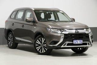 2018 Mitsubishi Outlander ZL MY19 ES 7 Seat (AWD) Bronze Continuous Variable Wagon.
