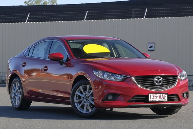 Used Mazda 6 GJ1032 Sport SKYACTIV-Drive, 2014 Mazda 6 GJ1032 Sport SKYACTIV-Drive Red 6 Speed Sports Automatic Sedan