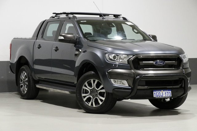 Used Ford Ranger PX MkII Wildtrak 3.2 (4x4), 2016 Ford Ranger PX MkII Wildtrak 3.2 (4x4) Grey 6 Speed Automatic Dual Cab Pick-up