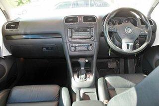 2009 Volkswagen Golf VI 118 TSI Comfortline White 7 Speed Automatic Hatchback