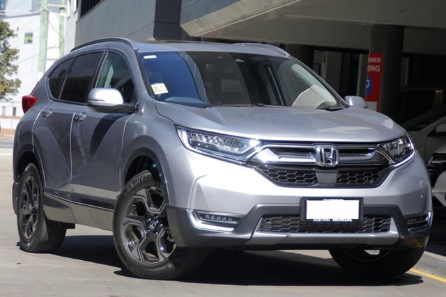 Demo Honda CR-V RW MY19 VTi-LX 4WD, 2018 Honda CR-V RW MY19 VTi-LX 4WD Lunar Silver 1 Speed Constant Variable Wagon