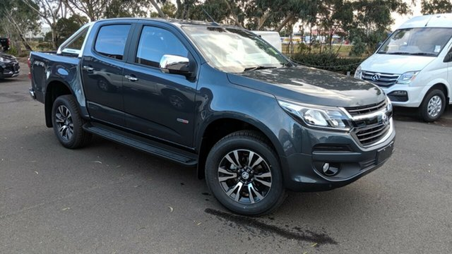 New Holden Colorado RG MY19 LTZ Pickup Crew Cab, 2019 Holden Colorado RG MY19 LTZ Pickup Crew Cab Dark Shadow Grey 6 Speed Sports Automatic Utility