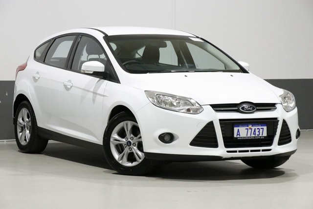 Used Ford Focus LW MK2 Trend, 2013 Ford Focus LW MK2 Trend White 6 Speed Automatic Hatchback