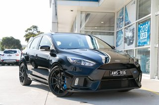 2017 Ford Focus LZ RS AWD Black 6 Speed Manual Hatchback.