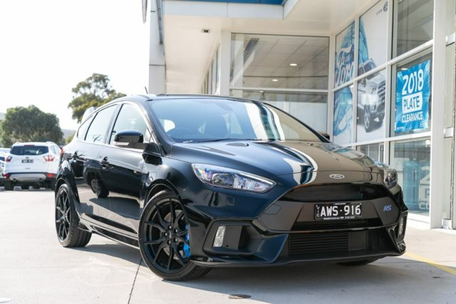 Demo Ford Focus LZ RS AWD, 2017 Ford Focus LZ RS AWD Black 6 Speed Manual Hatchback