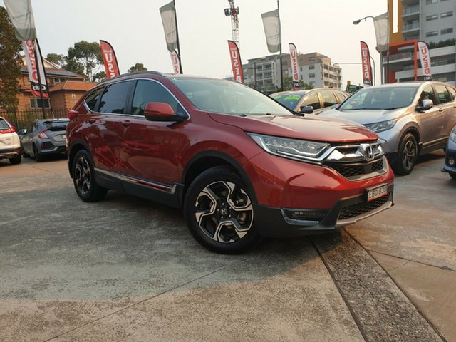 Used Honda CR-V RW MY18 VTi-LX 4WD, 2018 Honda CR-V RW MY18 VTi-LX 4WD Red 1 Speed Constant Variable Wagon