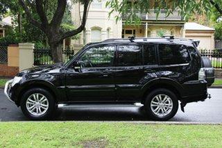 2014 Mitsubishi Pajero NW MY14 VR-X Black 5 Speed Sports Automatic Wagon
