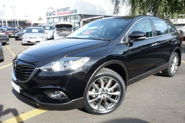 Used Mazda CX-9 TB10A5 Luxury Activematic, 2015 Mazda CX-9 TB10A5 Luxury Activematic Black 6 Speed Sports Automatic Wagon