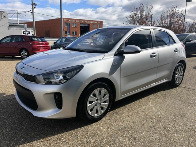 Used Kia Rio YB MY18 S, 2017 Kia Rio YB MY18 S Silver 4 Speed Sports Automatic Hatchback