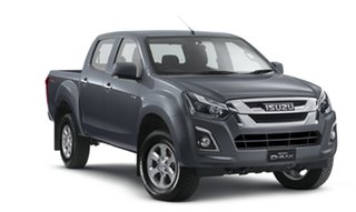 2018 Isuzu D-MAX MY18 LS-M Crew Cab Obsidian Grey 6 Speed Sports Automatic Utility