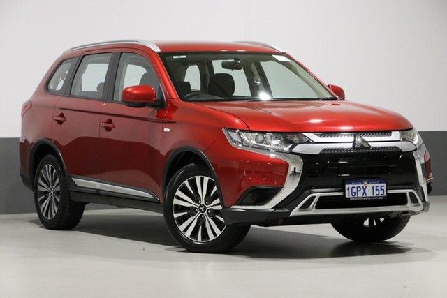 Used Mitsubishi Outlander ZL MY19 LS 7 Seat (AWD), 2018 Mitsubishi Outlander ZL MY19 LS 7 Seat (AWD) Red Continuous Variable Wagon