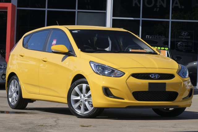 New Hyundai Accent RB6 MY18 Sport, 2019 Hyundai Accent RB6 MY18 Sport Thunder Bolt 6 Speed Sports Automatic Hatchback