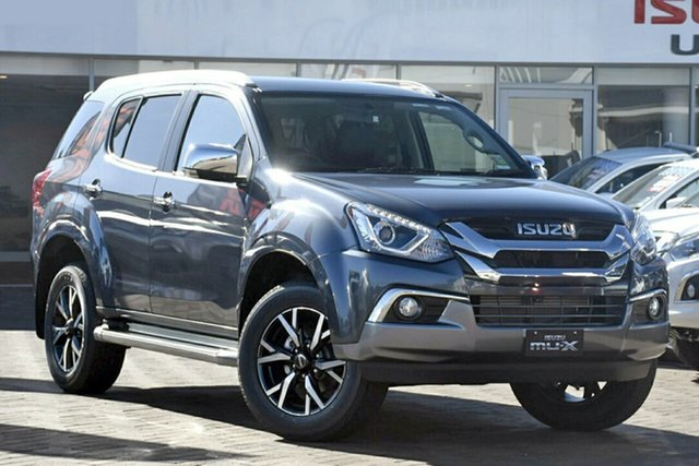 New Isuzu MU-X MY19 LS-T Rev-Tronic, 2020 Isuzu MU-X MY19 LS-T Rev-Tronic Obsidian Grey 6 Speed Sports Automatic Wagon