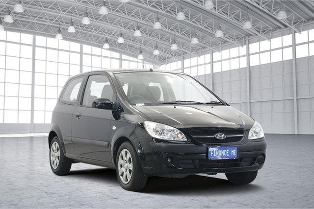 Used Hyundai Getz TB MY09 S, 2008 Hyundai Getz TB MY09 S Ebony Black 5 Speed Manual Hatchback