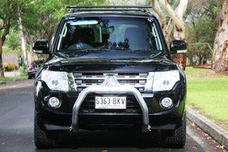 2014 Mitsubishi Pajero NW MY14 VR-X Black 5 Speed Sports Automatic Wagon.