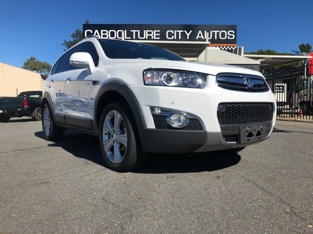 Used Holden Captiva CG Series II 7 AWD LX, 2012 Holden Captiva CG Series II 7 AWD LX White 6 Speed Sports Automatic Wagon