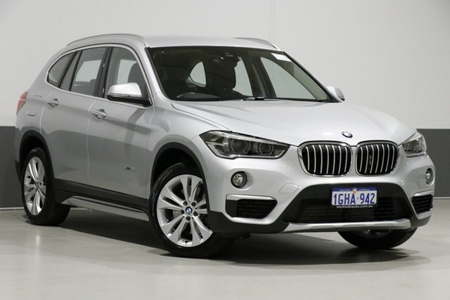Used BMW X1 F48 xDrive 20D, 2016 BMW X1 F48 xDrive 20D Silver 8 Speed Automatic Wagon