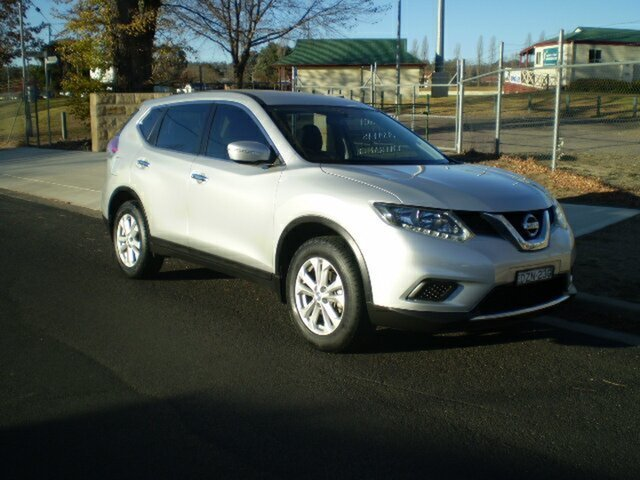 Used Nissan X-Trail T32 ST X-tronic 2WD, 2014 Nissan X-Trail T32 ST X-tronic 2WD Silver 7 Speed Constant Variable Wagon