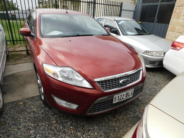 Used Ford Mondeo MA TDCi, 2007 Ford Mondeo MA TDCi Red 6 Speed Sports Automatic Sedan
