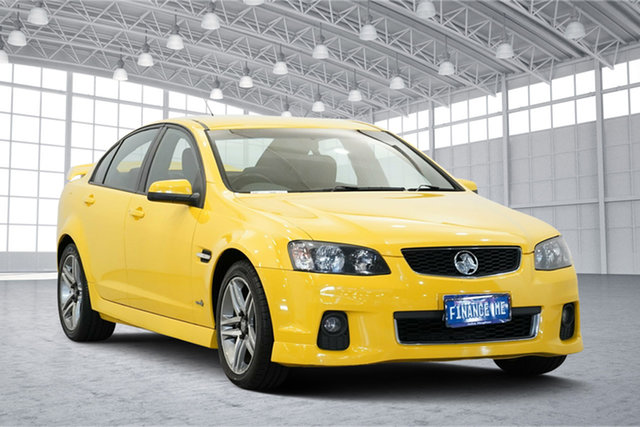 Used Holden Commodore VE II SV6, 2011 Holden Commodore VE II SV6 Yellow 6 Speed Sports Automatic Sedan