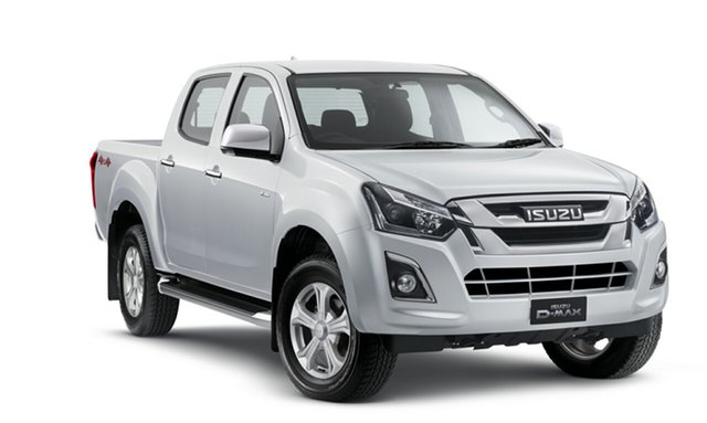 Demo Isuzu D-MAX MY18 LS-U Crew Cab, 2018 Isuzu D-MAX MY18 LS-U Crew Cab Splash White 6 Speed Manual Utility