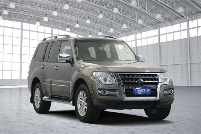 Used Mitsubishi Pajero NX MY15 Exceed, 2015 Mitsubishi Pajero NX MY15 Exceed Ironbark 5 Speed Sports Automatic Wagon