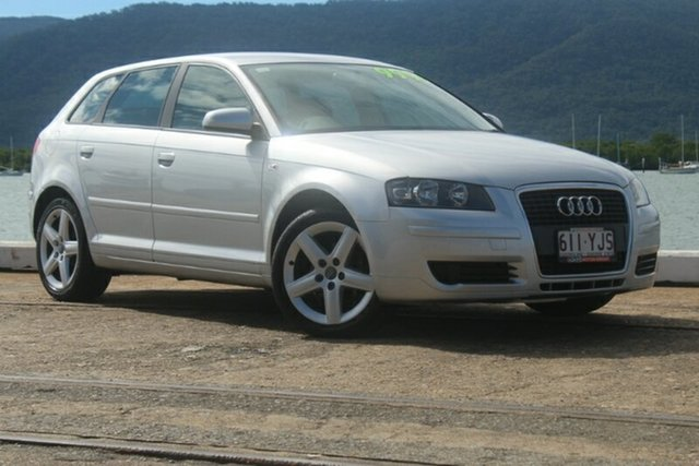 Used Audi A3 8P Attraction Sportback Tiptronic, 2007 Audi A3 8P Attraction Sportback Tiptronic Silver 6 Speed Sports Automatic Hatchback