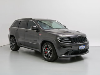 2015 Jeep Grand Cherokee WK MY15 SRT 8 (4x4) Graphite 8 Speed Automatic Wagon.