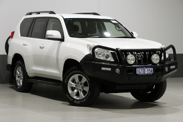 Used Toyota Landcruiser Prado KDJ150R 11 Upgrade GXL (4x4), 2013 Toyota Landcruiser Prado KDJ150R 11 Upgrade GXL (4x4) White 5 Speed Sequential Auto Wagon