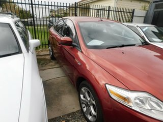 2007 Ford Mondeo MA TDCi Red 6 Speed Sports Automatic Sedan.