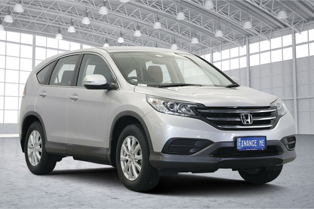 Used Honda CR-V RM VTi, 2013 Honda CR-V RM VTi Silver 6 Speed Manual Wagon