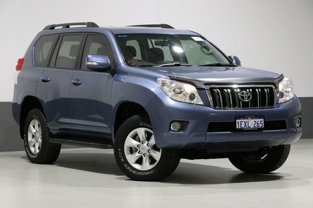 Used Toyota Landcruiser Prado KDJ150R GXL (4x4), 2010 Toyota Landcruiser Prado KDJ150R GXL (4x4) Blue 6 Speed Manual Wagon