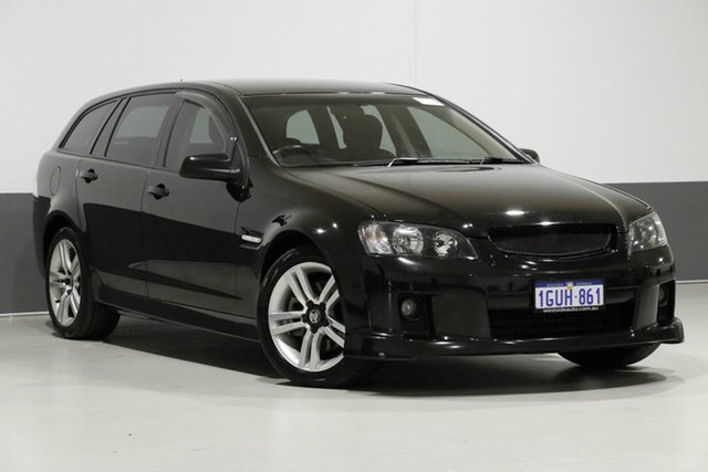 Used Holden Commodore VE MY09.5 SS, 2009 Holden Commodore VE MY09.5 SS Black 6 Speed Automatic Sportswagon