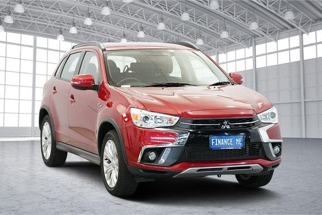 Used Mitsubishi ASX XC MY19 ES 2WD ADAS, 2018 Mitsubishi ASX XC MY19 ES 2WD ADAS Red 6 Speed Constant Variable Wagon