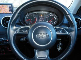 2014 Audi A1 8X MY14 Attraction Sportback S Tronic Silver 7 Speed Sports Automatic Dual Clutch