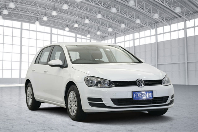 Used Volkswagen Golf VII MY17 92TSI DSG, 2016 Volkswagen Golf VII MY17 92TSI DSG Pure White 7 Speed Sports Automatic Dual Clutch Hatchback