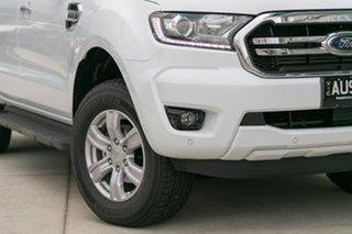 2018 Ford Ranger PX MkIII 2019.00MY XLT Pick-up Double Cab White 6 Speed Manual Utility