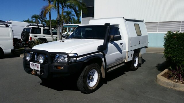 Used Nissan Patrol GU 6 MY08 DX, 2008 Nissan Patrol GU 6 MY08 DX White 5 Speed Manual Cab Chassis