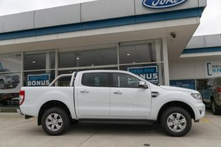 2018 Ford Ranger PX MkIII 2019.00MY XLT Pick-up Double Cab White 6 Speed Manual Utility.