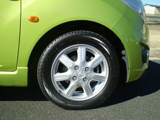 2010 Holden Barina TK MY10 Green 5 Speed Manual Hatchback.