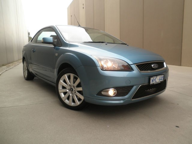 Used Ford Focus LT Coupe Cabriolet, 2007 Ford Focus LT Coupe Cabriolet Light Blue Mica 5 Speed Manual Convertible