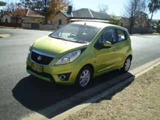 2010 Holden Barina TK MY10 Green 5 Speed Manual Hatchback