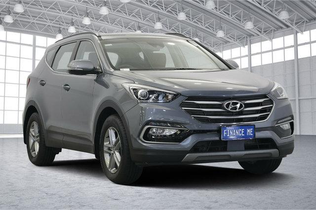Used Hyundai Santa Fe DM5 MY18 Active, 2018 Hyundai Santa Fe DM5 MY18 Active Titanium Silver 6 Speed Sports Automatic Wagon