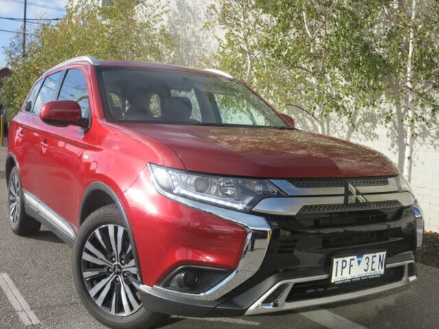 Used Mitsubishi Outlander ZL MY18.5 ES AWD, 2018 Mitsubishi Outlander ZL MY18.5 ES AWD Burgundy/23281 6 Speed Constant Variable Wagon