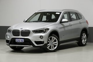 2016 BMW X1 F48 xDrive 20D Silver 8 Speed Automatic Wagon.