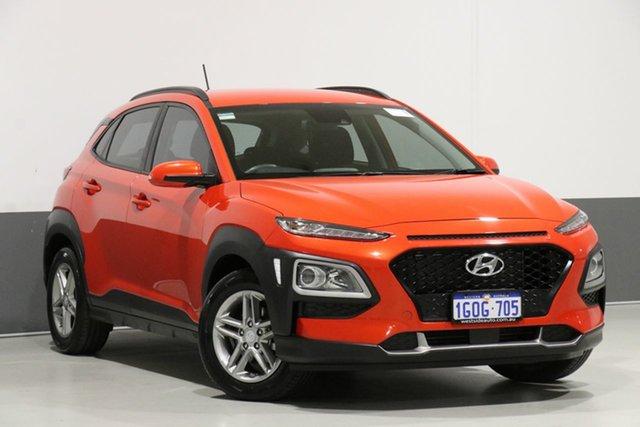 Used Hyundai Kona OS Active (FWD), 2018 Hyundai Kona OS Active (FWD) Orange 6 Speed Automatic Wagon