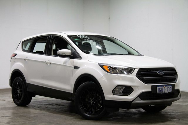 Used Ford Escape ZG Ambiente 2WD, 2017 Ford Escape ZG Ambiente 2WD White 6 Speed Sports Automatic Wagon