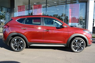 2020 Hyundai Tucson TL3 MY21 Highlander D-CT AWD Crimson Red 7 Speed Sports Automatic Dual Clutch