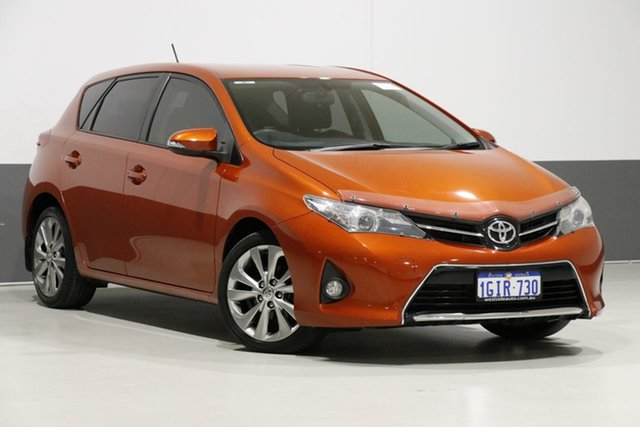 Used Toyota Corolla ZRE182R Levin SX, 2014 Toyota Corolla ZRE182R Levin SX Orange 7 Speed CVT Auto Sequential Hatchback