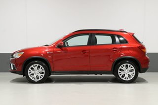 2018 Mitsubishi ASX XC MY19 ES (2WD) Red Continuous Variable Wagon